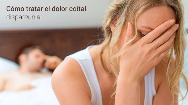 ¿Cómo tratar el dolor coital o dispareunia?